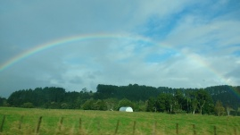 """"""" I have set my rainbow in the clouds, and it will be the sign of the covenant between me and the earth. """"- Gen. 9:13"""